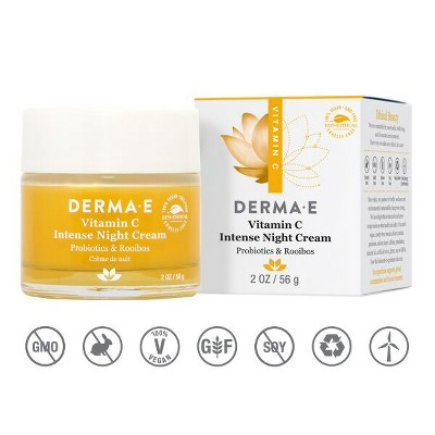 Facial Moisturizer: Derma E Vitamin C Intense Night Cream