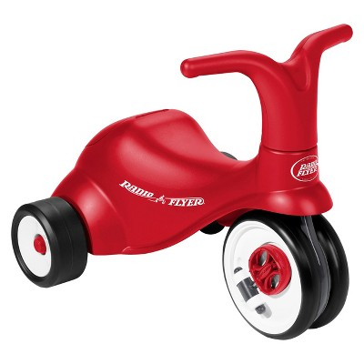 Radio Flyer Kids' Scoot 2 Pedal Scooter - Red