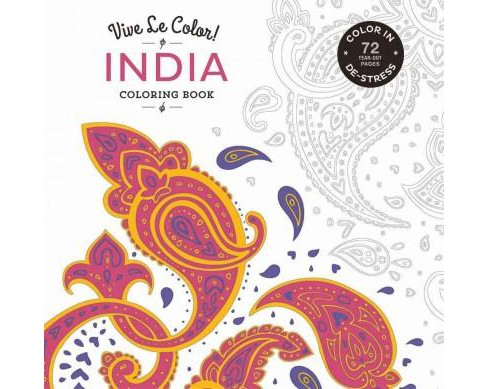 India Adult Coloring Book (Paperback) (Abrams Noterie & Marabout) - image 1 of 1