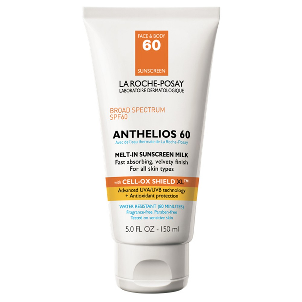 Image of La Roche Posay Anthelios Face and Body Sunscreen Melt-In Milk Lotion SPF 60 - 5oz