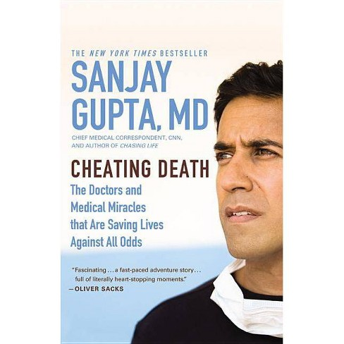 Cheating Death - by  Sanjay Gupta (Paperback) - image 1 of 1