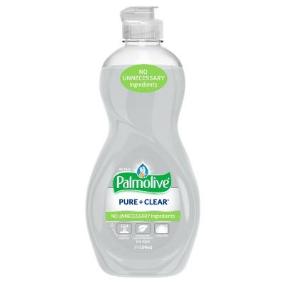 Palmolive Ultra Pure + Clear Dishwashing Liquid Dish Soap - 10 fl oz