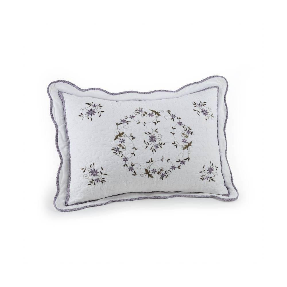 Modern Heirloom Gwen Pillow Sham White