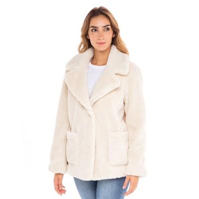 Sebby Teddy Faux Fur Jacket