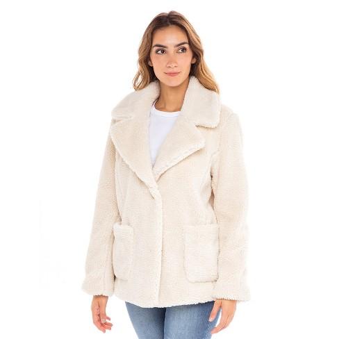 Sebby Teddy Faux Fur Jacket  - image 1 of 4