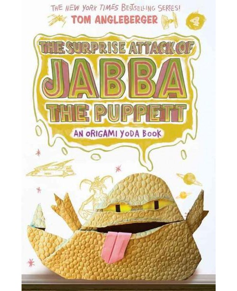 Surprise Attack of Jabba the Puppett (Reprint) (Paperback) (Tom Angleberger) - image 1 of 1