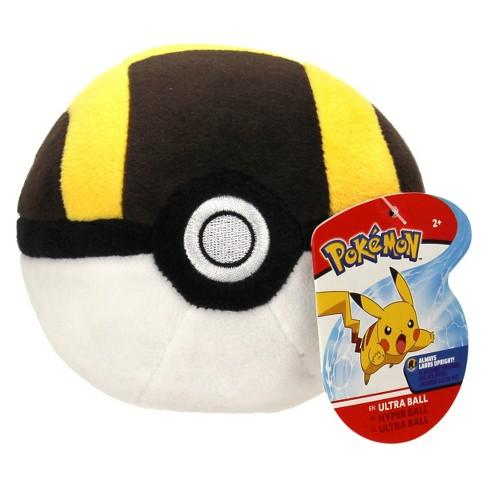 Pokemon 4 Poke Ball Plush Ultra Ball Target