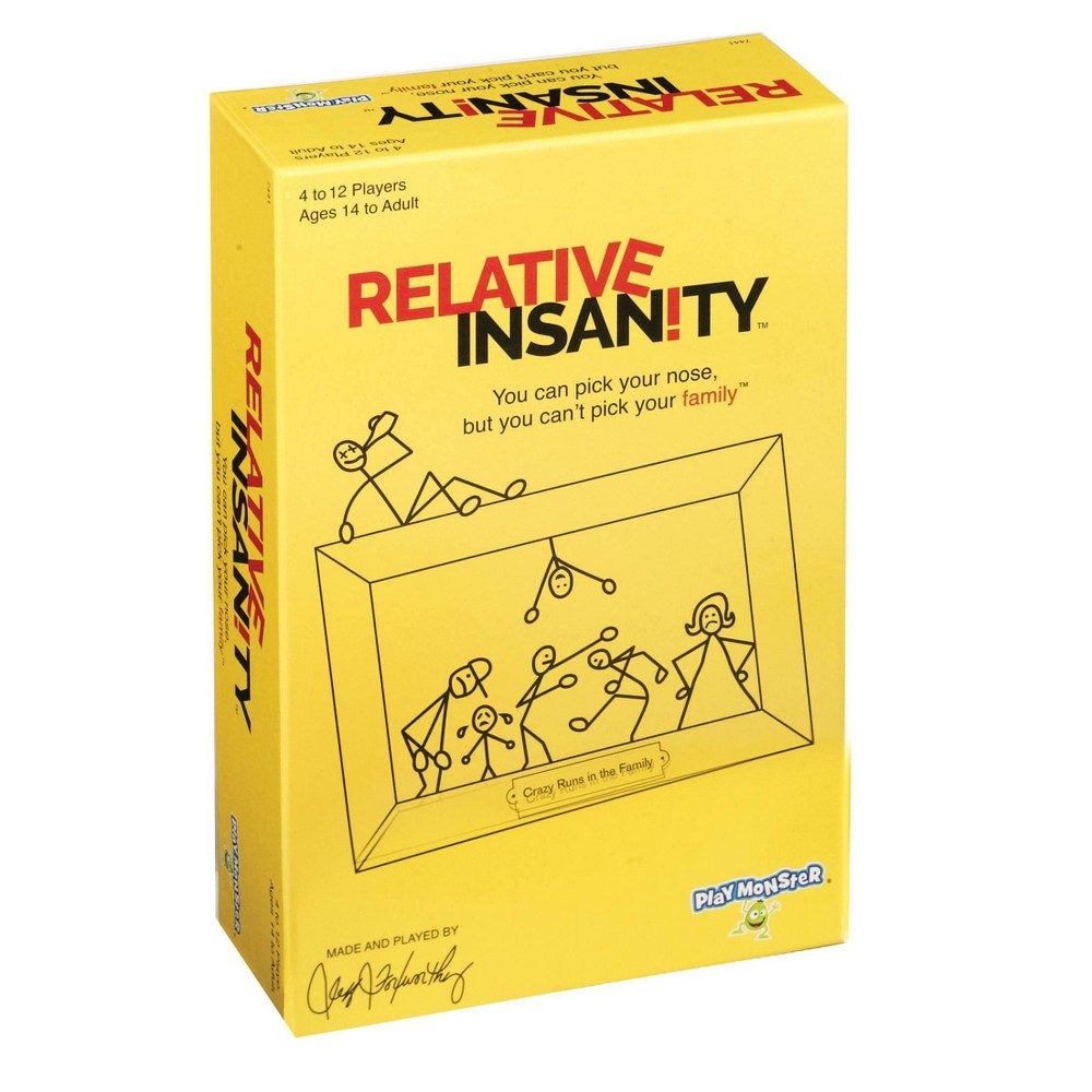 PlayMonster Relative Insanity game, Adult Unisex