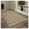 """1'8""""X3' Accent Rug Tan - Threshold™ - image 4 of 4"""