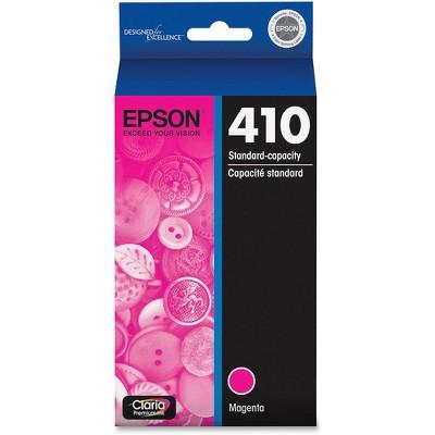 Epson Claria T410 Original Ink Cartridge - Inkjet - Standard Yield - Magenta - 1 Each