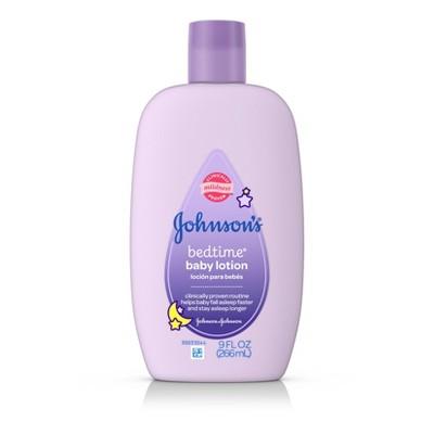 Johnson & Johnson's Baby Bedtime Lotion - 9 oz.