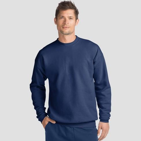 Hanes Men's Big & Tall EcoSmart Fleece Crew Neck Sweatshirt - image 1 of 1