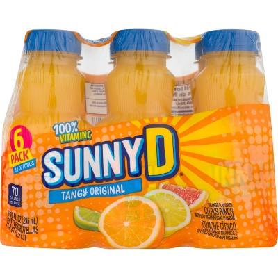 SunnyD Tangy Original Orange Flavored Citrus Punch, 10 FLoz., 6ct