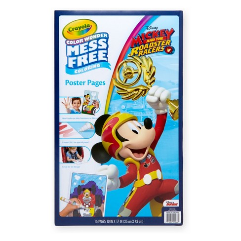 Crayola Color Wonder Poster Pages-Mickey Mouse Roadster Racers - image 1 of 4
