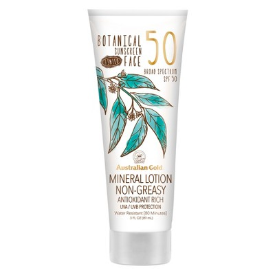 Sunscreen & Tanning: Australian Gold Botanical Tinted
