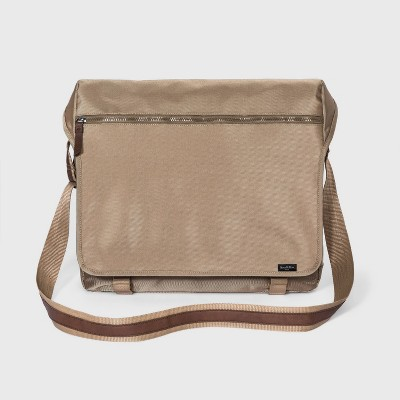 Men's Ballistic Nylon Messenger Bag - Goodfellow & Co™ Khaki