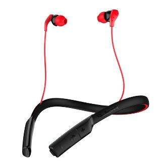 Skullcandy Method Wireless In Ear Earphone - Gray/Red