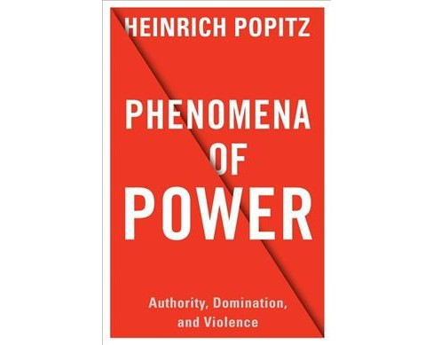 Phenomena of Power : Authority, Domination, and Violence (Hardcover) (Heinrich Popitz) - image 1 of 1