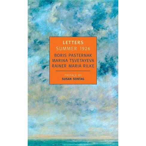 Letters Summer 1926 - by  Boris Pasternak & Marina Tsvetayeva & Rainer Maria Rilke (Paperback) - image 1 of 1
