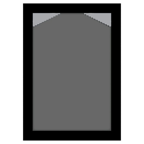 Designovation Kieva 11x14 Matted To 8x10 Black Picture Frame Set Of