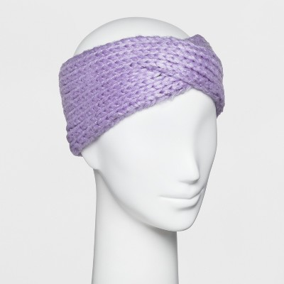 33f4ed0fb90 Women s Knit Crossover Headband - A New Day™   Target
