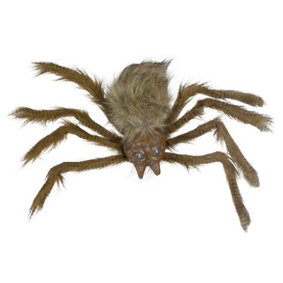"""Northlight 24"""" Brown Floating Spider with LED Eyes Halloween Decoration"""