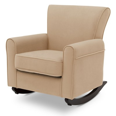 Delta Children Lancaster Rocking Chair - Sisal With Dark Chocolate Base