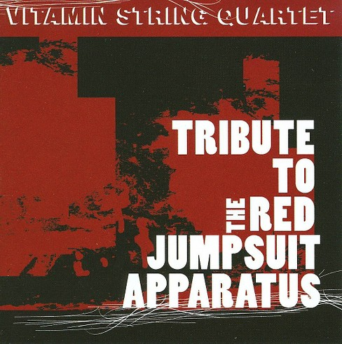 Vitamin string quart - Vitamin tribute red jumpsuit appar ep (CD) - image 1 of 1
