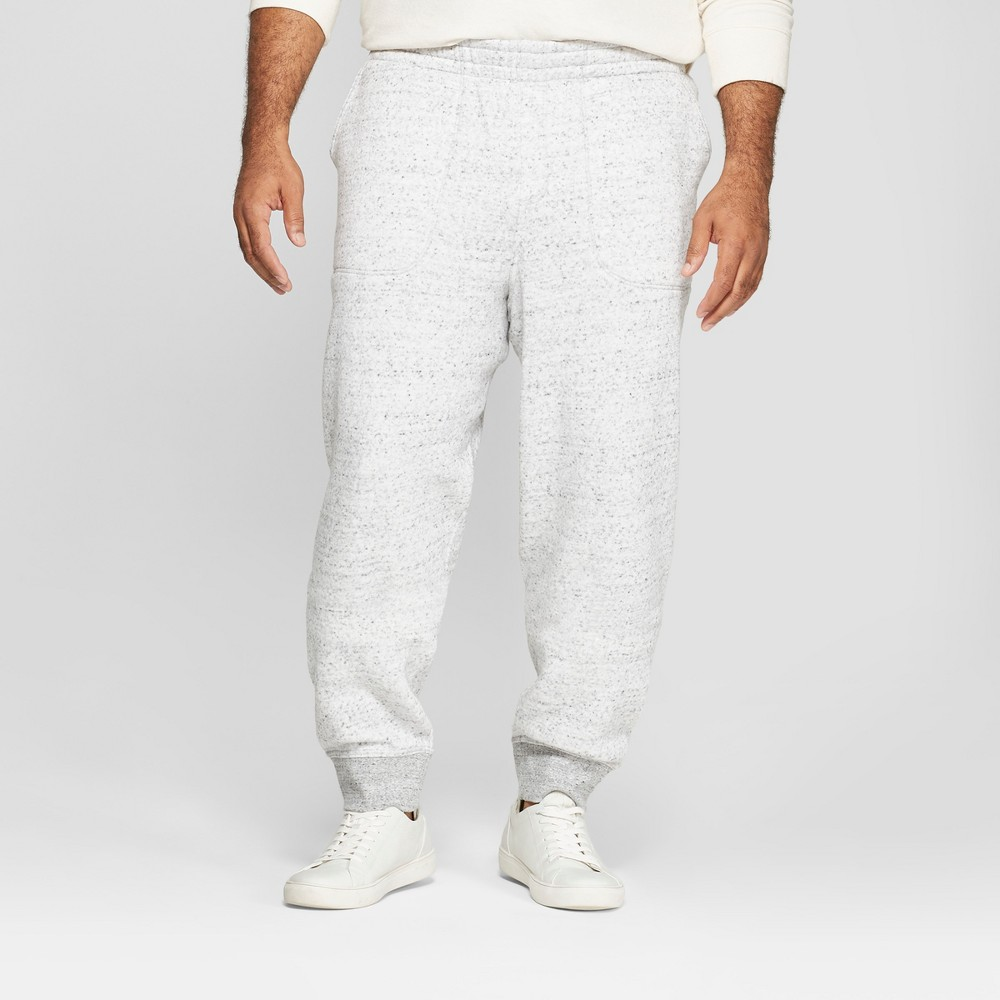 Men's Tall Tapered Knit Jogger Pants - Goodfellow & Co Gray MT