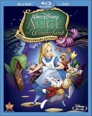 Alice in Wonderland [60th Anniversary Edition] [Blu-ray/DVD]
