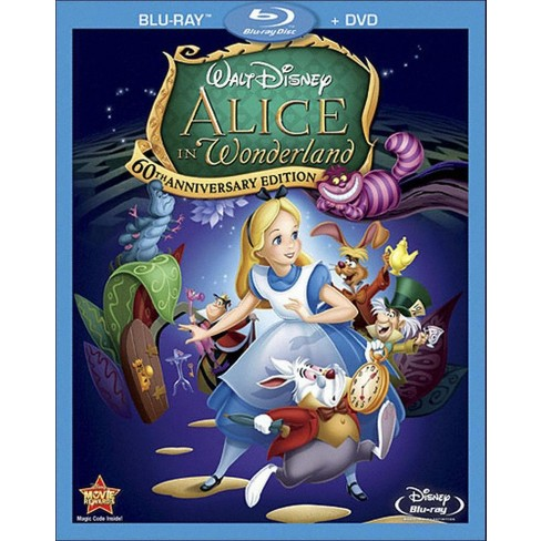 Alice in Wonderland [60th Anniversary Edition] [2 Discs] [Blu-ray/DVD] - image 1 of 1