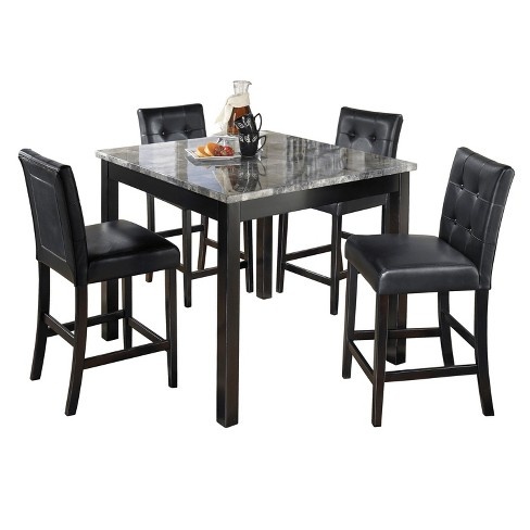 Dining Table Set Black  - Signature Design by Ashley - image 1 of 2