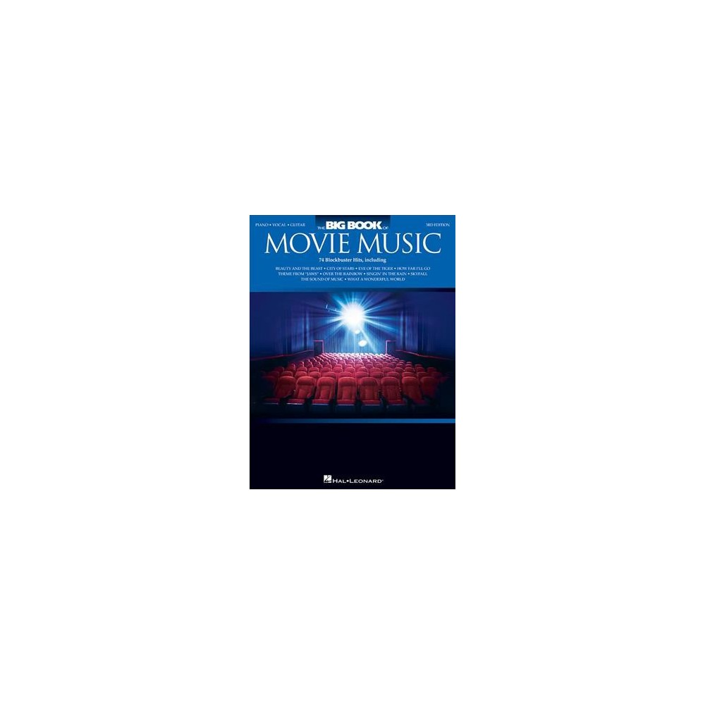 Big Book of Movie Music : Piano, Vocal, Guitar - 3 (Paperback)