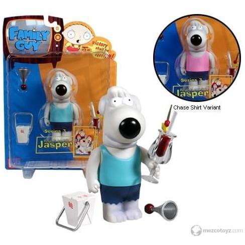Mezco Toyz Family Guy Series 3 Jasper Pink Shirt Variant Action Figure - image 1 of 1