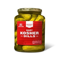 Kosher Baby Dill Pickles - 32oz - Market Pantry™
