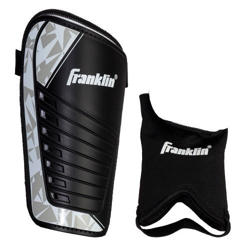 Franklin Sports Field master Shin Guards Black/Silver - M - image 1 of 1