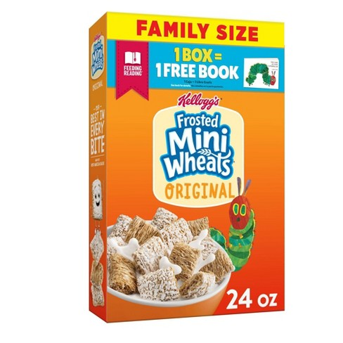 Original Frosted Mini-Wheats Breakfast Cereal - 24oz - Kellogg's - image 1 of 4