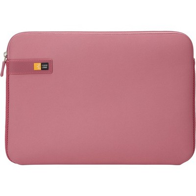 "Case Logic LAPS-113 HEATHER ROSE Carrying Case (Sleeve) for 13.3"" Apple Notebook, MacBook - Heather Rose - Impact Resistant Interior - EVA Foam, Woven"