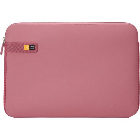 """Case Logic LAPS-113 HEATHER ROSE Carrying Case (Sleeve) for 13.3"""" Apple Notebook, MacBook - Heather Rose - Impact Resistant Interior - EVA Foam, Woven - image 1 of 3"""