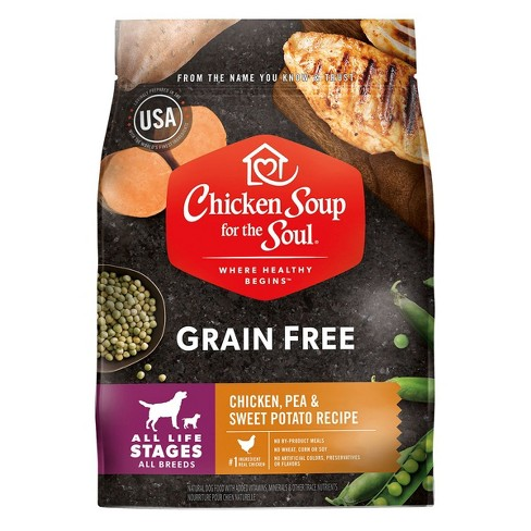 Chicken Soup For The Soul Chicken, Turkey & Brown Rice  Adult Recipe Dry Dog Food - Pack of 1, 28 lbs - image 1 of 2