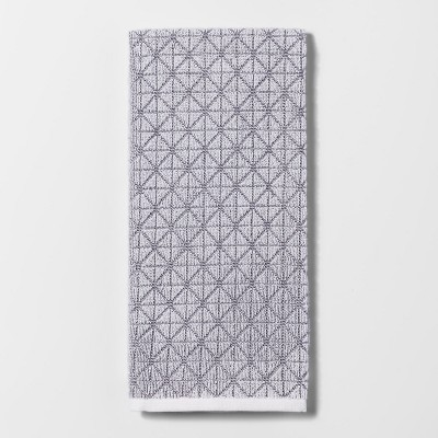 Sculpted Terry Kitchen Towel Gray - Project 62™