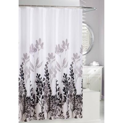 Wind Dance Shower Curtain Gray/White - Moda at Home