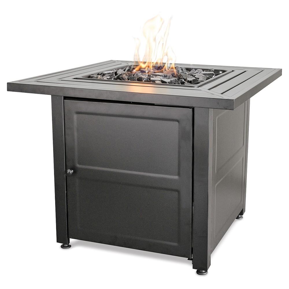 30 Gas Outdoor Firepit - Slate (Grey) - Endless Summer