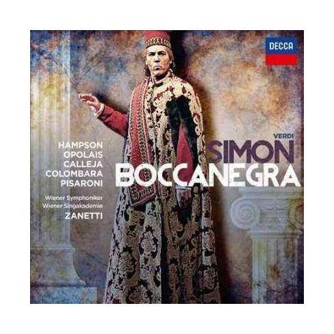 Thomas Hampson - Verdi: Simon Boccanegra (CD) - image 1 of 1