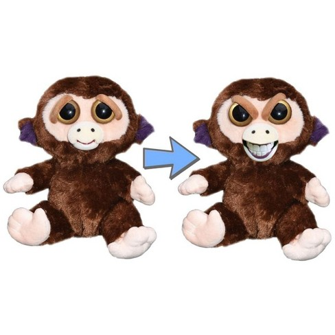 """William Mark Corp Feisty Pets 8"""" Plush, Grandmaster Funk the Monkey (Sly Grin) - image 1 of 2"""