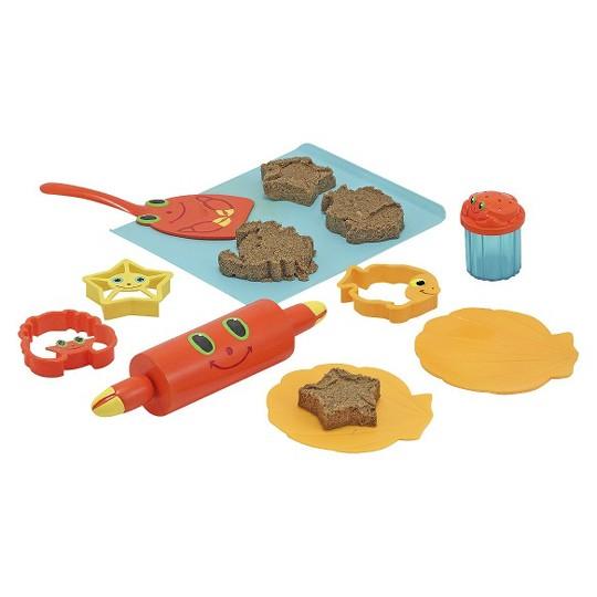 Melissa & Doug Sunny Patch Seaside Sidekicks Sand Cookie-Baking Set image number null