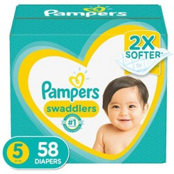 Pampers Swaddlers Diapers - (Select Size and Count)