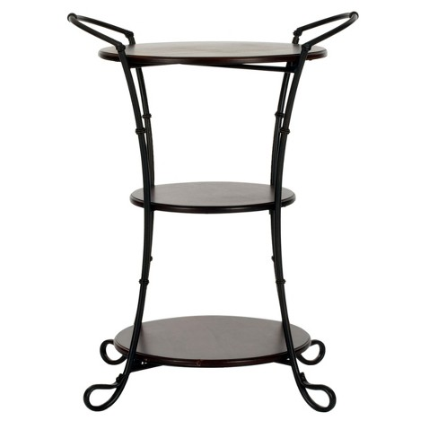 Jessica Side Table Dark Brown - Safavieh® - image 1 of 3