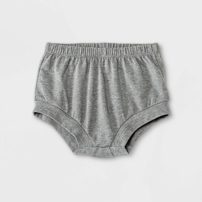Baby Girls' Cuffed Jersey Bubble Pull-On Shorts - Cat & Jack™ Gray