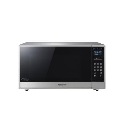 Panasonic 1.6 cu ft Cyclonic Inverter Microwave Oven - Silver